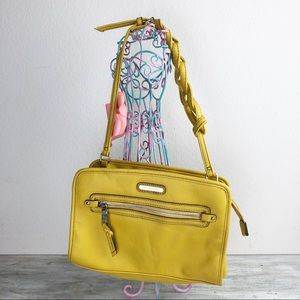 Dana Buchman Mustard Yellow Purse